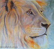 African Lion by Monica Batiste