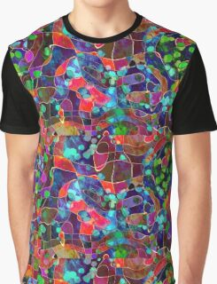 rainbow marble design  Graphic T-Shirt