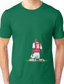Thierry Henry at White Hart Lane Unisex T-Shirt