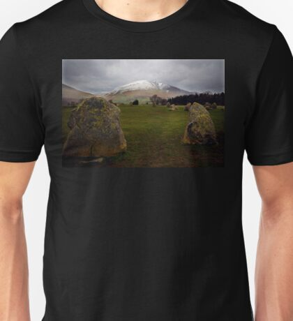 Castlerigg, Nr Keswick, Cumbria. English Lake District. Unisex T-Shirt