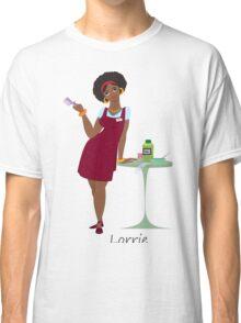 Beauty salon spa Lorrie worker Classic T-Shirt
