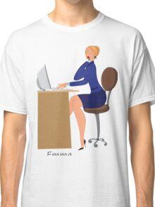 Beauty salon spa administrator Emma Classic T-Shirt