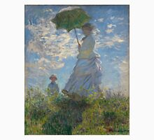 Monet - Woman with a Parasol (1875) Unisex T-Shirt