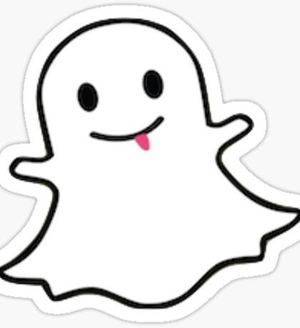 Snapchat Logo Sticker
