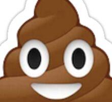 Poop Emoji Sticker
