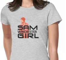 Sam Winchester Girl - Supernatural Womens Fitted T-Shirt