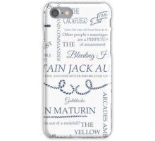 Aubreyad Typography iPhone Case/Skin