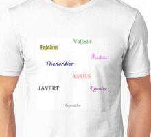 Les Miserables Unisex T-Shirt