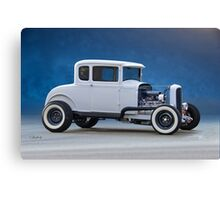 1930 Ford 'Classic Hot Rod' Coupe Canvas Print