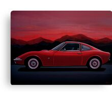 Opel GT Painting Canvas Print