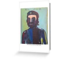 Che Guevara con buso, 2013  by Diego Manuel Greeting Card