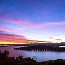 Dawn Over Miramar Peninsular, Wellington by SeeOneSoul