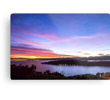 Dawn Over Miramar Peninsular, Wellington Metal Print
