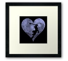 Sora's Heart Framed Print