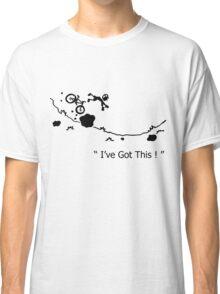 """Cycling Crash, Mountain Bike """" I've Got This ! """" Cartoon Classic T-Shirt"""