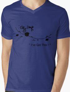 "Cycling Crash, Mountain Bike "" I've Got This ! "" Cartoon Mens V-Neck T-Shirt"
