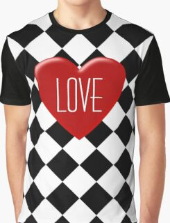 Love is Engraved on My Heart Graphic T-Shirt
