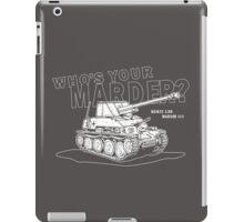 Marder III Anti-Tank Gun iPad Case/Skin