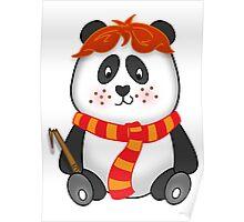 Potter Panda Pals - Ron Poster