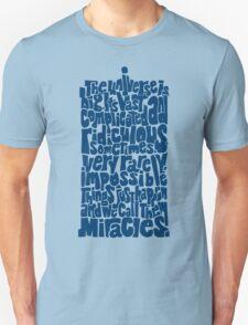 Full of Miracles (blue) Unisex T-Shirt