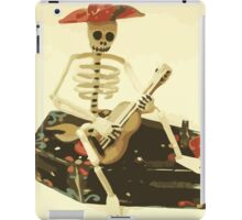 Day of the Dead Guitar Player iPad Case/Skin