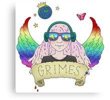 GRIMES - art angels Canvas Print