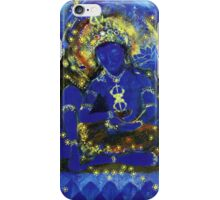 Peaceful Vajrapani iPhone Case/Skin