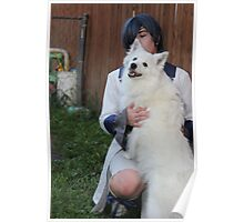 Ciel with Puppy 2 Poster