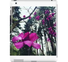 Purple Magnolia iPad Case/Skin