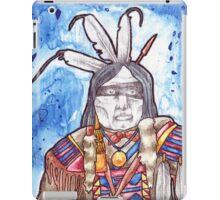 Native Warrior #2 iPad Case/Skin
