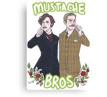 Mustache Bros Canvas Print
