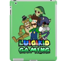 Luigikid Gaming and Co. iPad Case/Skin
