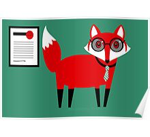 SECOND WORKING FOX  Poster