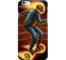 Ghost Rider On a Hoverboard iPhone Case/Skin