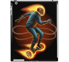 Ghost Rider On a Hoverboard iPad Case/Skin