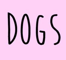 dogs heart Sticker
