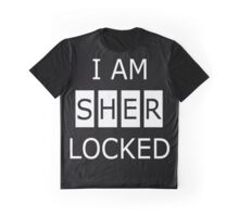 I AM SHERLOCKED Graphic T-Shirt