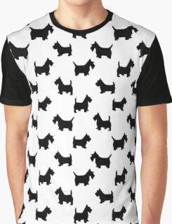 pattern with dogs) Graphic T-Shirt