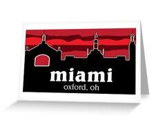 Miami University Greeting Card