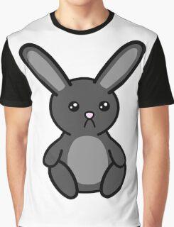 Three little Sad Bunnies Graphic T-Shirt
