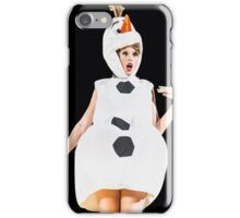 taylor olaf iPhone Case/Skin