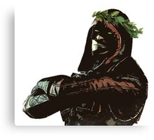 Ermac Laurel Crown Canvas Print