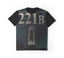 221B Baker Street Graphic T-Shirt