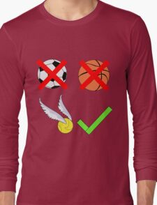 Quidditch Over Everything Long Sleeve T-Shirt