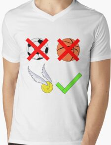 Quidditch Over Everything Mens V-Neck T-Shirt