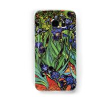 'Blue Irises' by Vincent Van Gogh (Reproduction) Samsung Galaxy Case/Skin