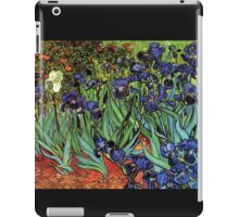 'Blue Irises' by Vincent Van Gogh (Reproduction) iPad Case/Skin