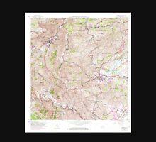USGS TOPO Map Puerto Rico PR Comerio 362097 1957 20000 Unisex T-Shirt