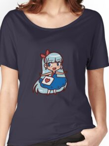 Cute Blue-haired Girl Women's Relaxed Fit T-Shirt