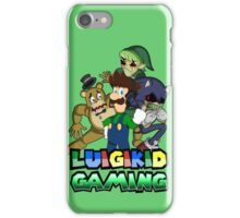 Luigikid Gaming and Co. iPhone Case/Skin